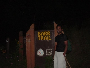Trailhead @ 4:30 am