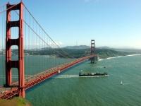 across the bridge, taking the nicer shot