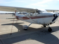 The Cessna 172 in which I made my first flight